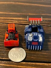Micro Machines Highway Warriors Savage Semi With Red Dirty Dozer, 1989 Galoob