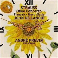 Strauss: Oboe Concerto/Francaix: L'Horloge De Flore/Satie: Gymnopedie (CD)