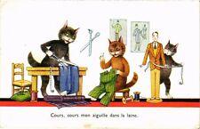 CATS PC Cours, cours mon aiguille dans la laine. (a2123)
