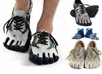 Mens Camo Sports Fingers Toes Socks Shoes Running Trainer Climbing Yoga Shoes