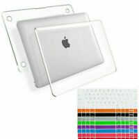 Hard Case Shell Cover for Macbook Air Pro 13 inch Laptop+ Keyboard Cover US