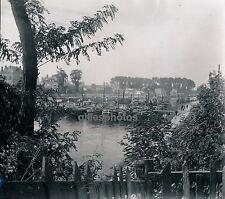 MEAUX c. 1940 - Batellerie Parc Péniches Seine et Marne - Div 1746