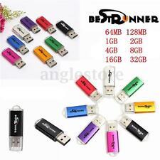 5/10pcs Lot Sale 64MB-16GB USB 2.0 Flash Memory Stick Pen Drive Data Storage