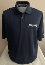 Virginia Beach Neptunes Minor League Baseball Team Blue Shirt, Nike Golf, Large