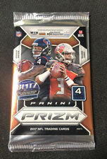 2017 Panini Prizm Football Pack of Cards. Chance For A Pat Mahomes Silver Prizm!