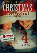 USED DVD- 4MOVIE CHRISTMAS MIRACLES - TIME FOR MIRACLES + ANGEL in the FAMILY