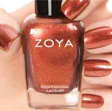 ZOYA ZP754 AUTUMN Ignite Collection ~ varnished copper metallic nail polish NEW