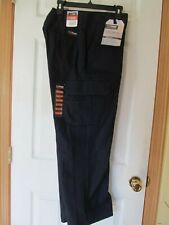 NWT WRANGLER WORKWEAR FUNCTIONAL CARGO PANT W32 L30 Dark Blue, Inseam Gusset
