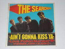 THE SEARCHERS Ain't Gonna Kiss Ya EP 1963 NZ Press EX Cond BEAT