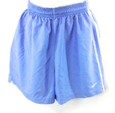 NEW Womens Nike 203903 448 Light Blue Dri-Fit Running Style Shorts