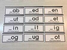 Word Family Flip Books - Set of 12 - Kit One