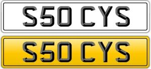 STACY NUMBER PLATE PRIVATE:STACEY STACIE SEE CYS SAYS SEEY STACI  - REG S50 CYS