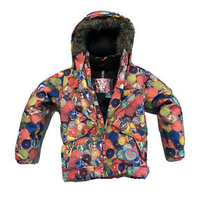 Burton DryRide Girl's Lavish Bomber Jacket Coat RARE Ski Snowboard 7/8 Insulated