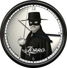 Zorro Productions Officially Licensed Duncan Regehr New World w Sword Wall Clock