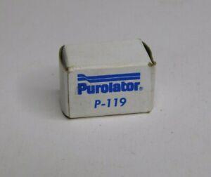 1968-1979 Purolator P-119 Gas Fuel Filter Fits Buick Chevrolet Dodge Pontiac