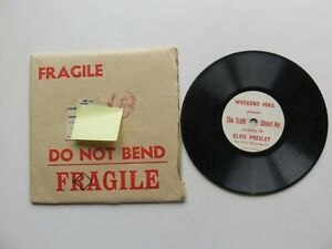 ELVIS PRESLEY UK 1957 THE TRUTH ABOUT ME  78 WITH MAILER
