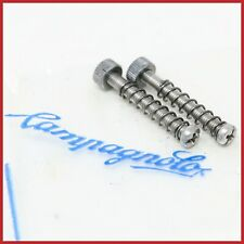 NOS CAMPAGNOLO REAR DROPOUTS 3mm SCREWS REGISTER ADJUSTER VINTAGE 70s 80s OLD