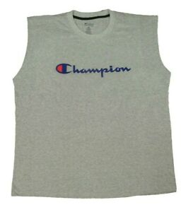 Champion Men's Big & Tall Graphic Muscle T-Shirt - Available in Multiple Colors!