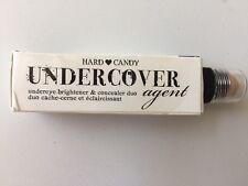 Hard Candy NIB UNDERCOVER AGENT Undereye Brightener & Concealer Duo Tan #379