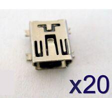 20x connecteur à souder Mini USB type B - 20pcs solder connector SMD Socket