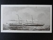 No.20 VENUS - AMERICAN CIVIL WAR Old Ships 2nd Series - Dominion Tobacco 1935