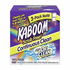 Kaboom Continuous Clean System Refill Tablets, 3 Count