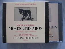 Schoenberg: Moses Und Aron - Scherchen, Greindl, Melchert - 2 CD made in Italy