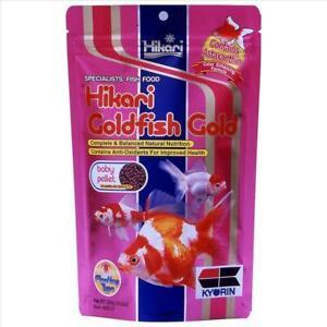 Hikari Goldfish Gold Baby - 300g 1.7-2.0mm Pellet Food Balanced Growth Formula