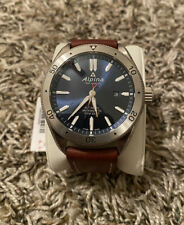 Alpina Alpiner Automatic Blue Dial Brown Leather Strap Men's Watch AL-525NS5AQ6