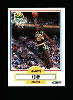 1990-91 Fleer #178 Shawn Kemp RC Rookie Card NM-MT/MINT Vintage Supersonics Card