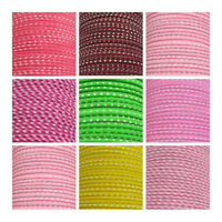 POLKA DOT FLANGED PIPING 12mm TRIM *8 COLOURS* COTTON MIX CORD HABERDASHERY TRIM