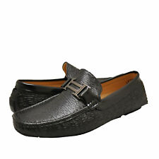 Men's Shoes Aldo Rossini MALIBU 1 Horse Bit Slip On Loafers 91723 BLACK
