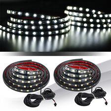 2 Pcs Truck Bed Light LED Light Strip Lamp Waterproof Lighting Kit On-Off Switch