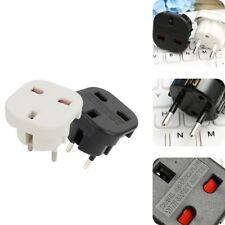 Travel EU to UK Euro Plug AC Power Charger Adapter Converter Socket CA