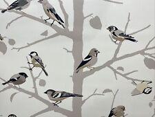 New listing Wallpaper Luxury Wall Coverings Art Birds on a Tree Branch Tan Brown Beige Cream