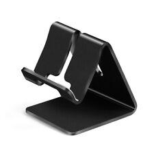 Black Olaf Universal Aluminum Metal Desktop Stand Holder For Cell Phone Tablet