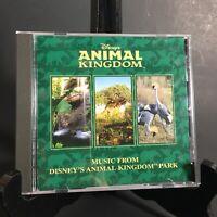 Walt Disney's Music From Animal Kingdom Theme Park Original 1998 Soundtrack OOP