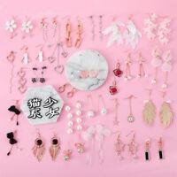 Women Fashion Hook Jewelry Charm Dangle Drop Earrings Eardrop Wholesale Pendant