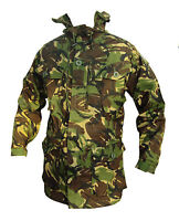 DPM Camo WINDPROOF Smock - British Army Military - Various Sizes - Grade 1 Used