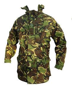 Woodland/Green/DPM Camo WINDPROOF Smock/Jacket - British Army Military - NEW