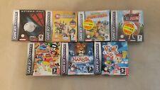Nintendo Game Boy Advance Gameboy Lot 7 Original Games in Box Complete 4 SEALED