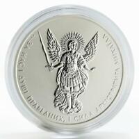 Ukraine 1 hryvna Archangel Michael silver coin 2019