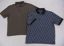 Lot of 2 John Ashford Golf RapiDry Short Sleeve Polo Shirts - Size Large