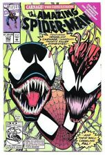 THE AMAZING SPIDER-MAN #363 FIRST PRINTING VENOM! CARNAGE! MARK BAGLEY ART! NM-