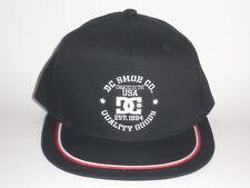 DC Shoes 7 POINTER Snapback Hat Black Red OSFA ($25) NEW Skate BMX Board Bike