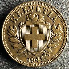 2 Rappen 1941 Schweiz KM#4.1