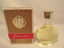 Vintage Farouche Nina Ricci .85 Oz. Eau De Toilette