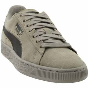Puma Suede Classic Kurim Lace Up  Mens  Sneakers Shoes Casual   - Grey