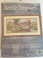 Needle Treasures COUNTRY BRIDGE 066-40 Needlepoint Kit NOS
