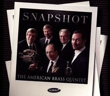 FREE US SHIP. on ANY 3+ CDs! ~Used,Good CD American Brass Quintet: Snapshot